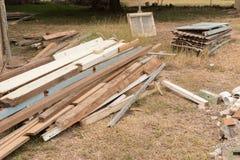 Σκουπίδια κατασκευής και ανακαίνισης Στοκ Φωτογραφία