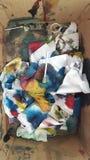 Σκουπίδια στο κιβώτιο Στοκ φωτογραφίες με δικαίωμα ελεύθερης χρήσης