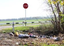 Σκουπίδια Στοκ εικόνες με δικαίωμα ελεύθερης χρήσης