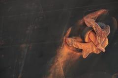 σκουριά αγκυλών Στοκ Φωτογραφίες
