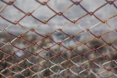 Σκουριά καγκέλων φρακτών στοκ φωτογραφίες με δικαίωμα ελεύθερης χρήσης