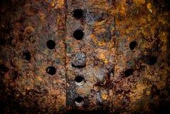σκουριά σιδήρου στοκ εικόνες με δικαίωμα ελεύθερης χρήσης