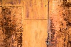 Σκουριά στη σύσταση μετάλλων Στοκ Φωτογραφίες