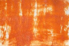 Σκουριά στο υπόβαθρο τοίχων χάλυβα Στοκ εικόνα με δικαίωμα ελεύθερης χρήσης