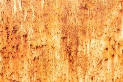 Σκουριά στο υπόβαθρο τοίχων χάλυβα Στοκ φωτογραφία με δικαίωμα ελεύθερης χρήσης