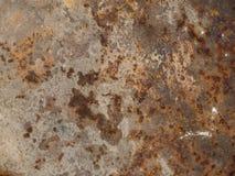 Σκουριά σύστασης στο μέταλλο Υπόβαθρο Στοκ Εικόνα