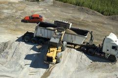 σκουριά φόρτωσης Στοκ φωτογραφία με δικαίωμα ελεύθερης χρήσης