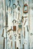 Σκουριασμένα εργαλεία μετάλλων στοκ εικόνα με δικαίωμα ελεύθερης χρήσης
