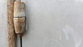 Σκουριασμένες αρθρώσεις πορτών Στοκ εικόνες με δικαίωμα ελεύθερης χρήσης
