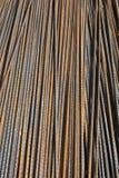 Σκουριασμένες ράβδοι χάλυβα Στοκ φωτογραφία με δικαίωμα ελεύθερης χρήσης