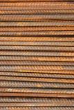 Σκουριασμένη ανασκόπηση ράβδων μετάλλων Στοκ φωτογραφίες με δικαίωμα ελεύθερης χρήσης