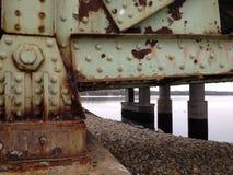 Σκουριασμένη γέφυρα Στοκ φωτογραφία με δικαίωμα ελεύθερης χρήσης