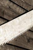 Σκουριασμένη λεπίδα πριονιών Στοκ φωτογραφία με δικαίωμα ελεύθερης χρήσης