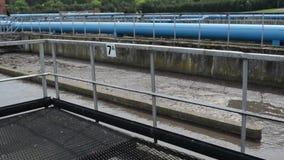 Σκουριασμένη επεξεργασία νερού βρύσης απόθεμα βίντεο