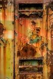 σκουριασμένη επιφάνεια Στοκ φωτογραφίες με δικαίωμα ελεύθερης χρήσης