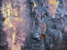σκουριασμένη επιφάνεια Στοκ Εικόνες