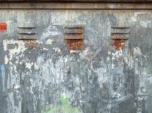 σκουριασμένη επιφάνεια Στοκ Εικόνα