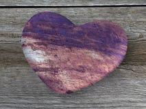 Σκουριασμένη μεταλλική καρδιά Στοκ φωτογραφία με δικαίωμα ελεύθερης χρήσης