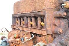 Σκουριασμένη μηχανή Στοκ φωτογραφία με δικαίωμα ελεύθερης χρήσης