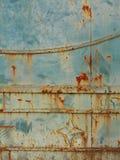 Σκουριασμένη πύλη σιδήρου Στοκ Φωτογραφίες