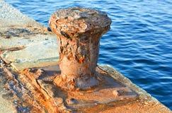 Σκουριασμένη σφήνα Στοκ εικόνες με δικαίωμα ελεύθερης χρήσης