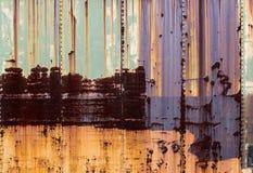 Σκουριασμένη σύσταση μετάλλων Στοκ φωτογραφίες με δικαίωμα ελεύθερης χρήσης