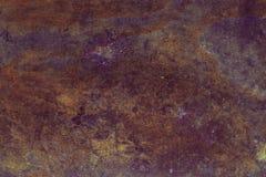 σκουριασμένη σύσταση μετ μέταλλο ανασκόπησης σκο& Αναδρομικός τρύγος Grunge του σκουριασμένου μεταλλικού πιάτου για το σχέδιο με  Στοκ φωτογραφία με δικαίωμα ελεύθερης χρήσης