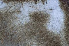 σκουριασμένη σύσταση μετ Στοκ Εικόνα