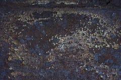 σκουριασμένη σύσταση μετ Στοκ Εικόνες