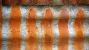 Σκουριασμένοι λεκέδες στο σίδηρο Στοκ Εικόνες