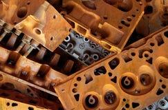 Σκουριασμένοι φραγμοί μηχανών Στοκ φωτογραφίες με δικαίωμα ελεύθερης χρήσης