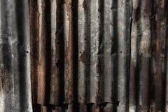 Σκουριασμένος γαλβανισμένος χάλυβας στοκ εικόνα με δικαίωμα ελεύθερης χρήσης