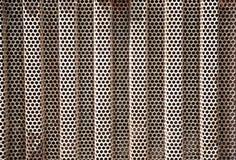 Σκουριασμένος καθαρός χάλυβα για τη ροή όρου αέρα υπαίθρια στοκ φωτογραφίες
