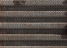Σκουριασμένος καθαρός χάλυβα για τη ροή όρου αέρα υπαίθρια στοκ εικόνες