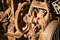 Σκουριασμένος μηχανισμός μετάλλων Στοκ Εικόνες