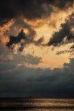 Σκουριασμένος ουρανός Στοκ φωτογραφία με δικαίωμα ελεύθερης χρήσης