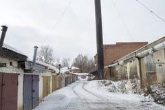 Σκουριασμένος ο σωλήνας ατμού Στοκ Φωτογραφίες