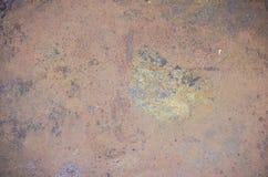 σκουριασμένος τοίχος μ&eps Στοκ φωτογραφία με δικαίωμα ελεύθερης χρήσης