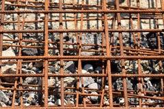 σκουριασμένος χάλυβας & Στοκ Εικόνες