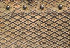 Σκουριασμένο δίκτυο μετάλλων Στοκ εικόνες με δικαίωμα ελεύθερης χρήσης