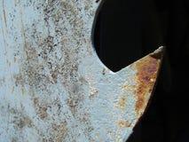σκουριασμένο δόντι πριονιών Στοκ Εικόνες