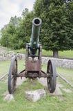 Σκουριασμένο ιστορικό πυροβόλο Στοκ Εικόνες