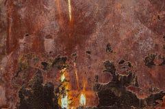 Σκουριασμένο καφετί υπόβαθρο grunge με το διάστημα για το κείμενο ή την εικόνα Στοκ Εικόνα