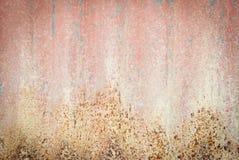 Σκουριασμένο κόκκινο μέταλλο Στοκ Εικόνες
