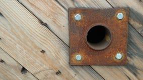 Σκουριασμένο μέρος στο ξύλο Στοκ Εικόνες