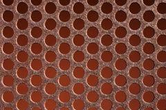 Σκουριασμένο μέταλλο σχεδίων υποβάθρου Στοκ εικόνα με δικαίωμα ελεύθερης χρήσης