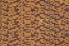 Σκουριασμένο μέταλλο φύλλων διατρήσεων Στοκ Εικόνες