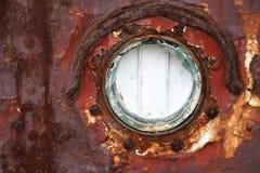 σκουριασμένο παράθυρο Στοκ Φωτογραφίες