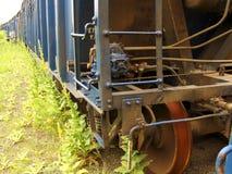 Σκουριασμένο παλαιό boxcar στοκ φωτογραφία με δικαίωμα ελεύθερης χρήσης