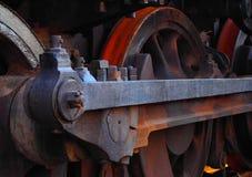 σκουριασμένο τραίνο Στοκ Φωτογραφία